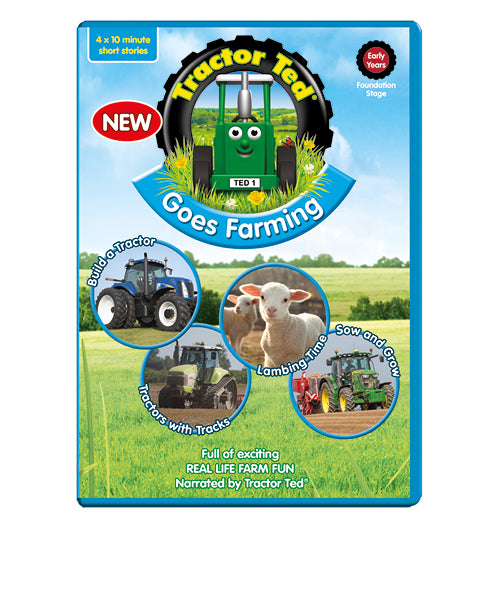 Tractor Ted Going Farming DVD