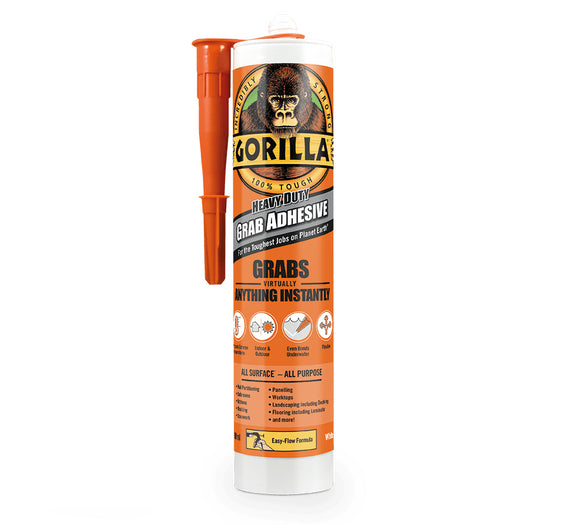 Gorilla Glue Grab Adhesive Heavy Duty White