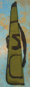 Croots Shotgun Cover Polyester Green with Side Pocket
