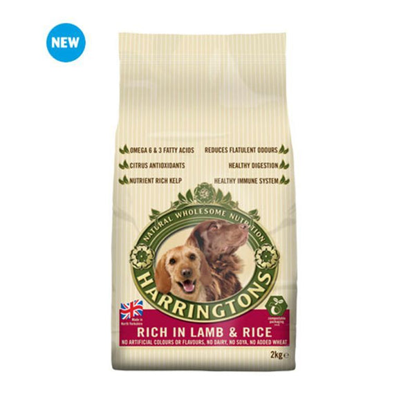 Harringtons Dog Food Lamb 2kg