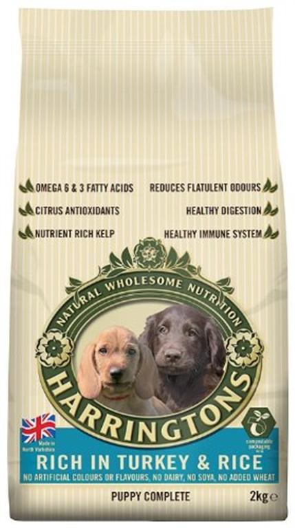 Harringtons Dog Food Puppy 2kg