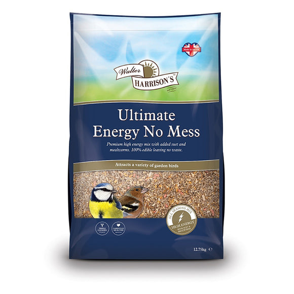 Walter Harrison's Ultimate Energy No Mess Bird Feed 12.75kg
