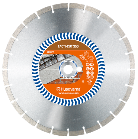 Husqvarna TACTI-CUT S50 Diamond Blade 12