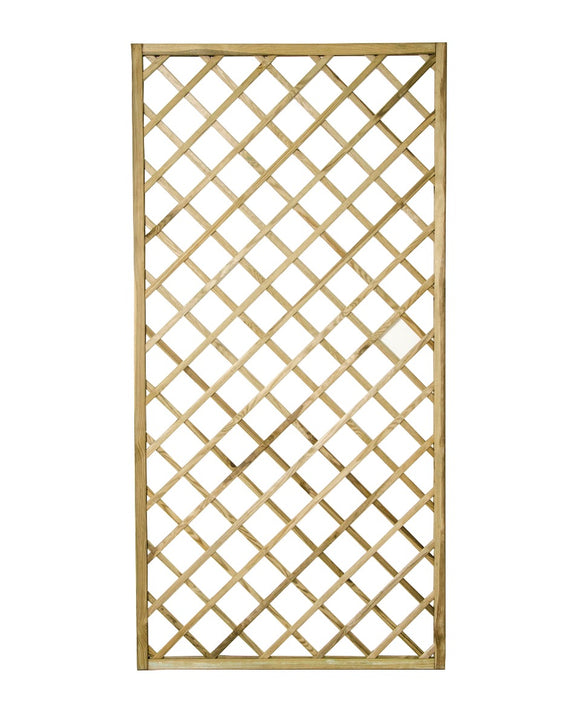 Forest Garden Hidcote Lattice 180 x 90cm