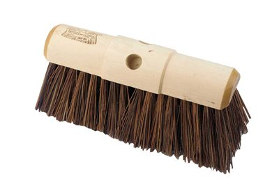 Hill Brush Industrial Stiff 330mm Yard Broom