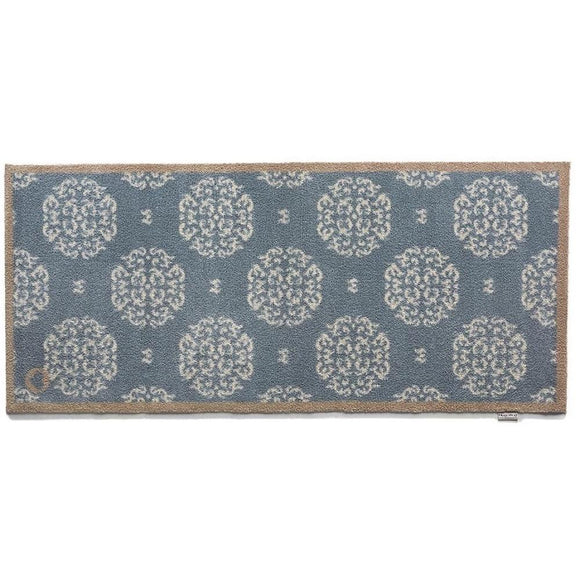 Hug Rug Runner Mat | Home 15 Blue White Pattern