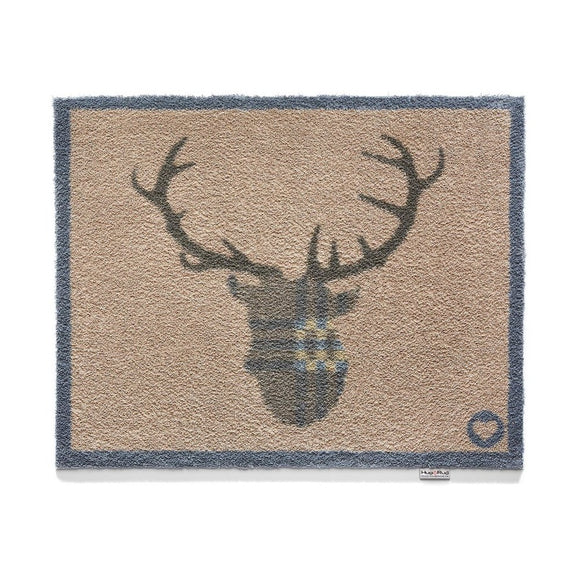 Hug Rug Door Mat | Home 19 Tartan Deer