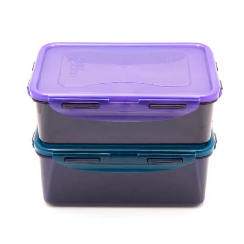 Lock & Lock Eco Rectangle Food Container Set 2 Piece