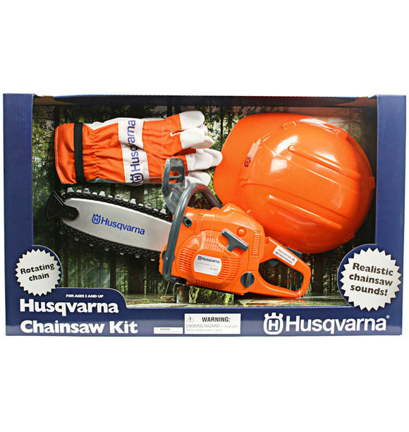 Husqvarna Toy Chainsaw Play Kit
