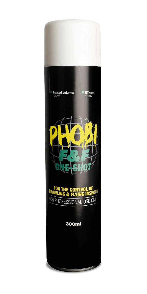 Phobi F&F One-Shot Flying & Crawling Insect Killer for Professional Use