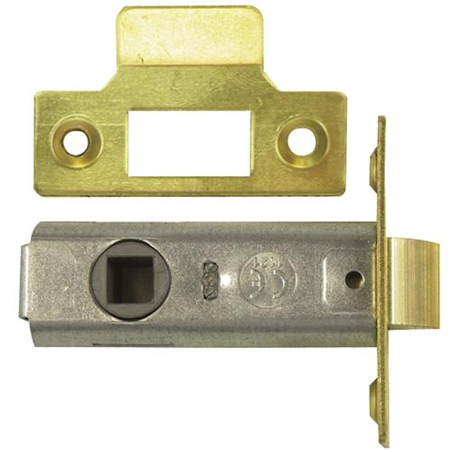 Legge 3721 & 3722 Tubular Latch 75mm PB Bagged