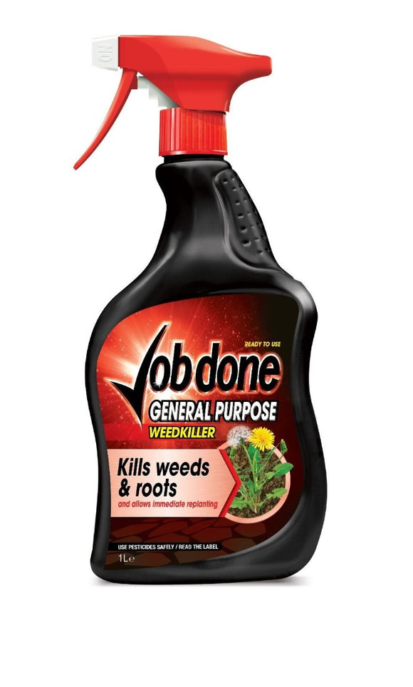 Job Done General Purpose Weedkiller Spray Ready To Use 1L