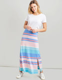Joules Marion Jersey Maxi Skirt