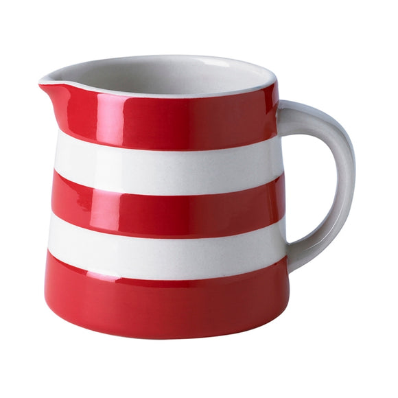 Cornishware Cornish Red Dreadnought Jug 20oz