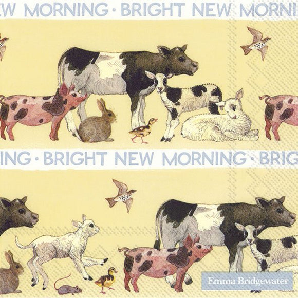Emma Bridgewater Bright New Morning Lunch Napkins