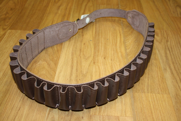 Cartridge Belt Leather 12G