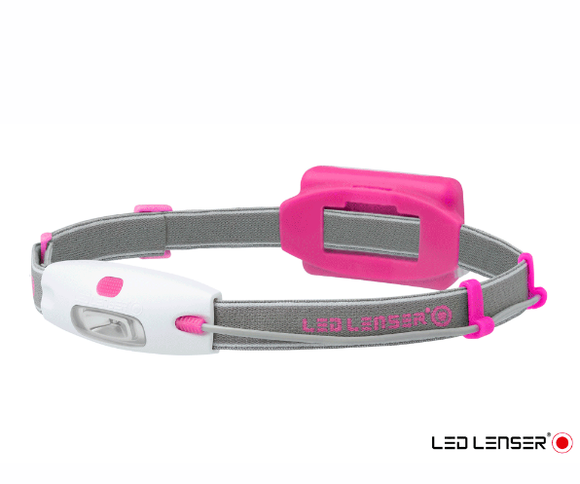 LED LENSER NEO LED Head Torch Pink