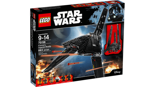 You added <b><u>Lego Star Wars Krennic's Imperial Shuttle 75156</u></b> to your cart.