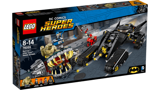 You added <b><u>Lego DC Comics Super Heroes Batman Killer Croc Sewer Smash 76055</u></b> to your cart.
