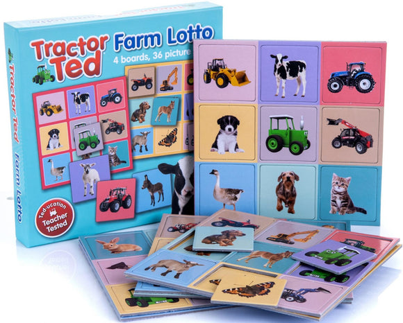 Tractor Ted Farm Lotto