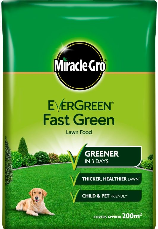 Miracle-Gro Evergreen Fast Green Lawn Food Bag 7kg