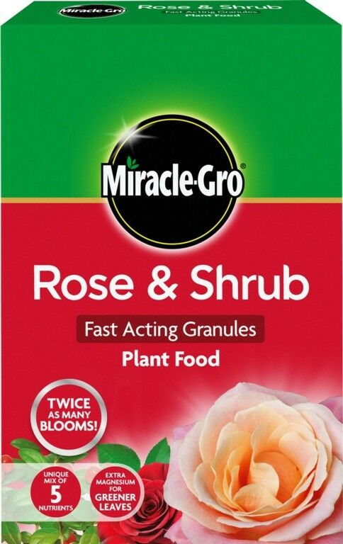 Miracle-Gro Rose & Shrub Fast Acting Granules Plant Food 3kg