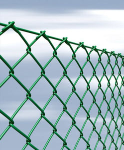 Moncaster Chainlink Fencing Green 0.9m x 25m Roll