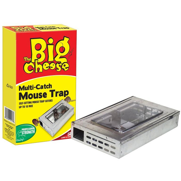 The Big Cheese Large Multi Mouse Trap
