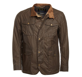 You added <b><u>Barbour Mens Waxed Jacket Lightweight Ogston Dark Sand</u></b> to your cart.