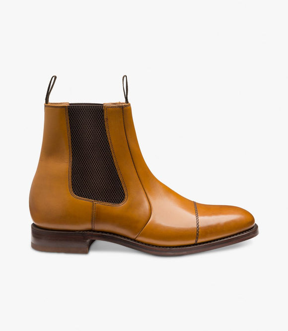 Loake Mens Dealer Boots | Newbury Tan