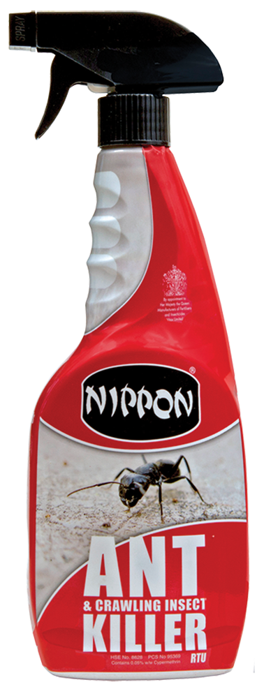 Nippon Ant & Crawling Insect Killer RTU Spray 750ml