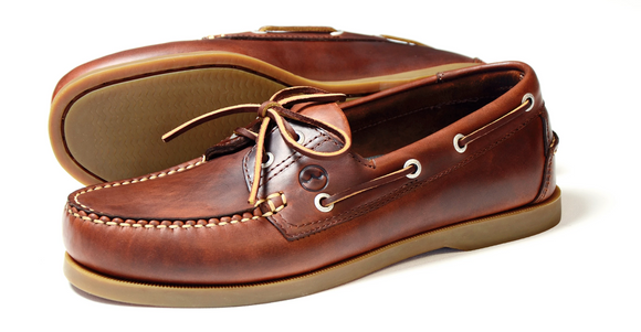 Orca Bay Mens Deck Shoe Creek Saddle Brown