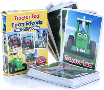 You added <b><u>Tractor Ted Farm Pairs Card Game</u></b> to your cart.