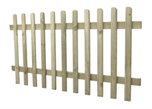 Forest Pale Fence Panel
