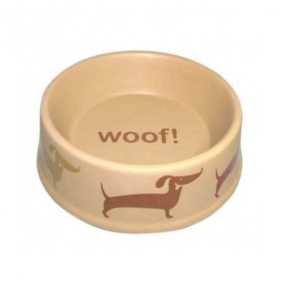 Petface Country Dog Deli Ceramic Dog Bowl 15cm