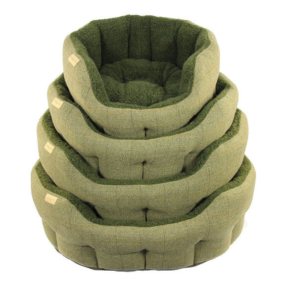 Earthbound Dog Beds Classic Tweed M