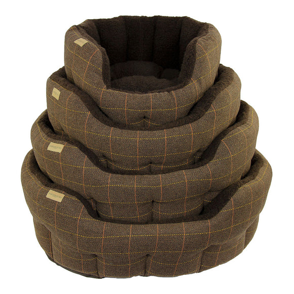 Earthbound Dog Beds Classic Tweed L