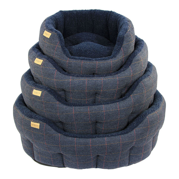 Earthbound Dog Beds Classic Tweed S