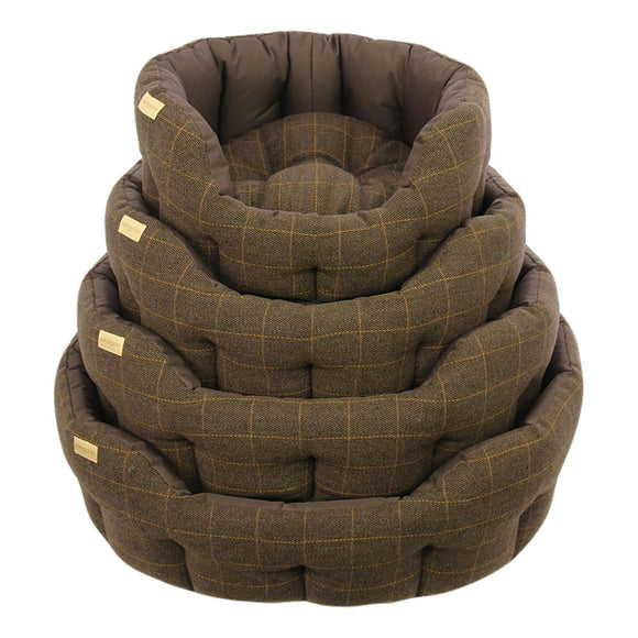 Earthbound Dog Beds Waterproof Tweed XL