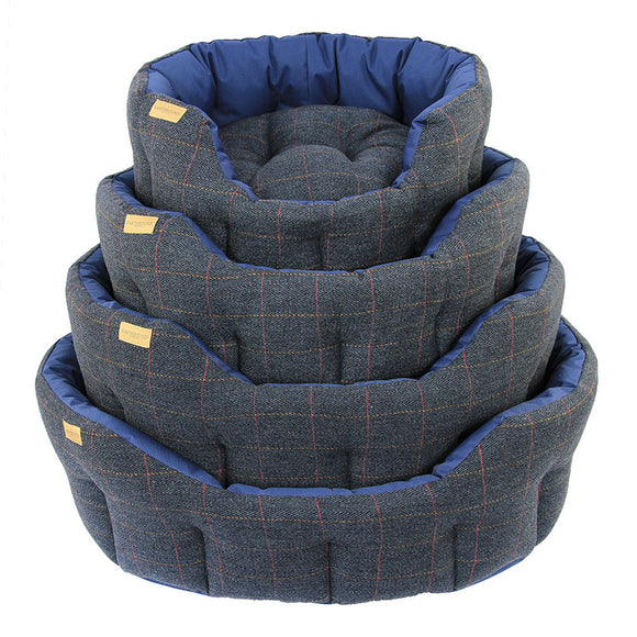 Earthbound Dog Beds Waterproof Tweed S