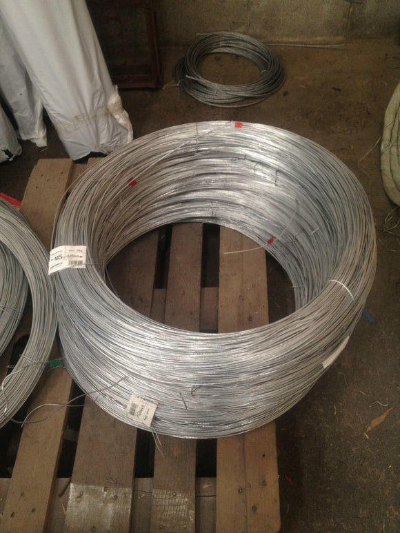 Fencing Wire Galv Mild Steel 25kg x 2.5mm - Approx 200m