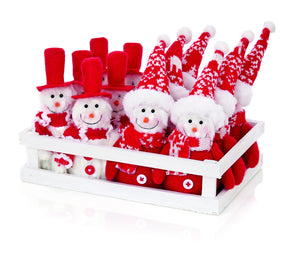 Premier Assorted Snowman Christmas Decoration