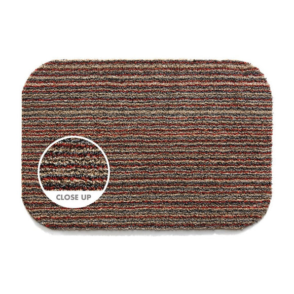 Hug Rug Door Mat Plain Candy Stripe