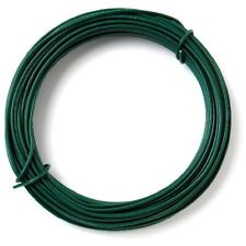 Green PVC Coated Tying Wire -68m x 1.4mm