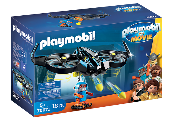 Playmobil The Movie Robotitron with Drone 70071