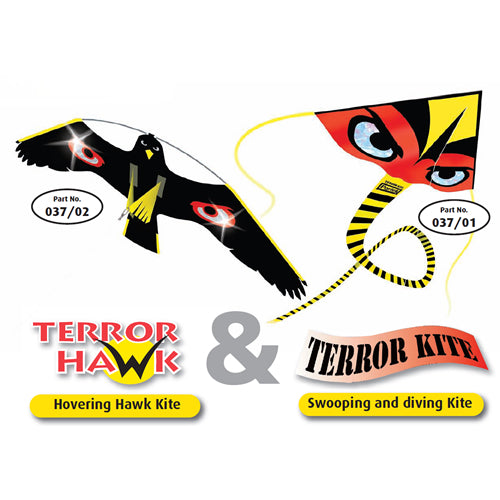 Portek Terror Hawk & Kite Kit with Pole