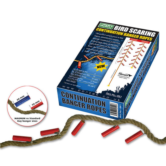 Portek Birdscarer Night Ropes 6 Ropes Per Box