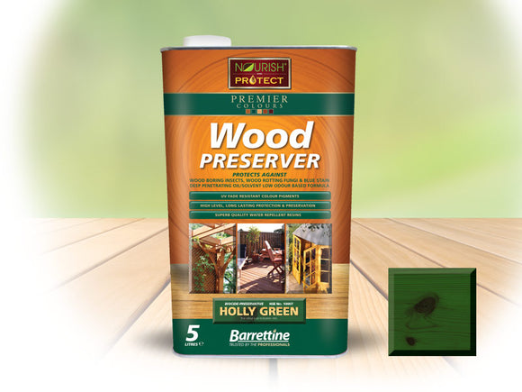 Barrettine Nourish & Protect Premier Wood Preserver 5L