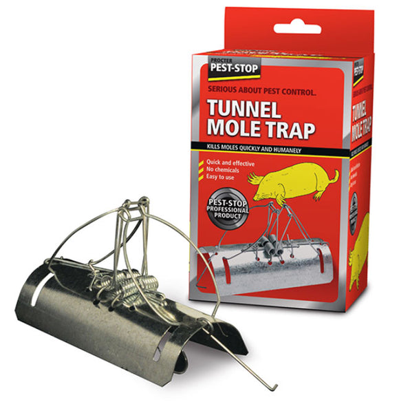 Pest-Stop Tunnel Type Mole Trap