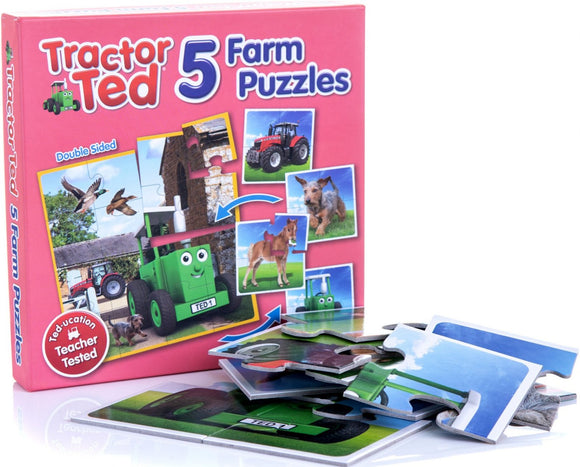 Tractor Ted 5 Piece Jigsaw Puzzle